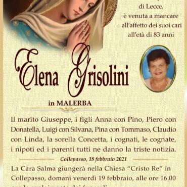 Elena Grisolini – in Malerba – Collepasso