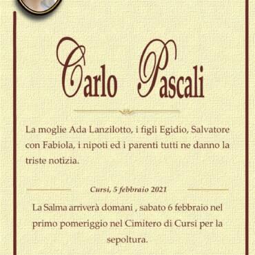 Carlo Pascali – Roma – Cursi