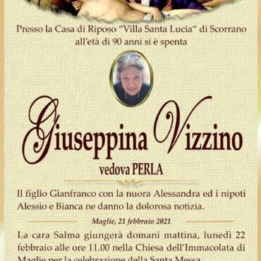 Giuseppina Vizzino – vedova Perla – Maglie