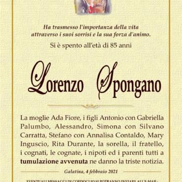Lorenzo Spongano – Galatina