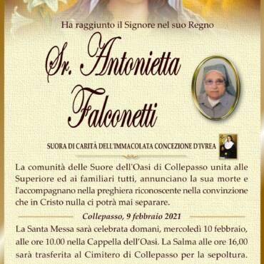 Suor Antonietta Falconetti – Collepasso