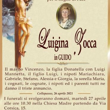 Luigina Zocca – in Guido – Collepasso