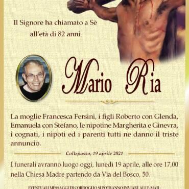 Mario Ria – Collepasso
