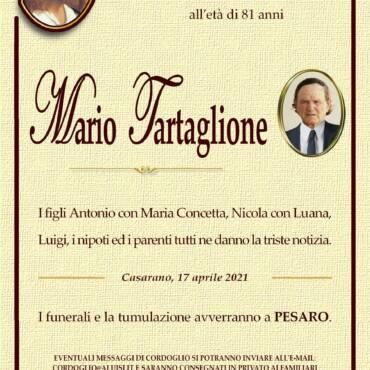 Mario Tartaglione – Pesaro – Casarano