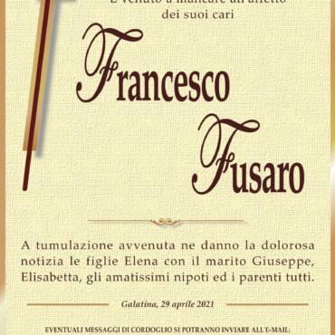 Francesco Fusaro – Galatina