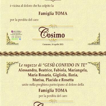 Cosimo Damiano Toma – Casarano
