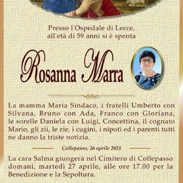 Rosanna Marra – Collepasso
