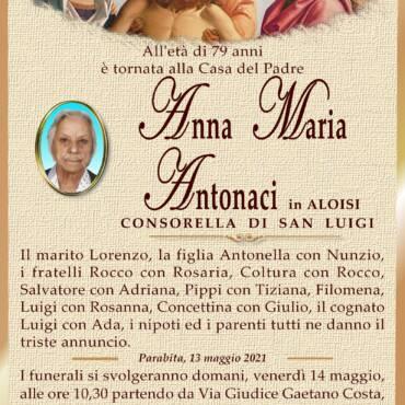 Anna Maria Antonaci – in Aloisi – Consorella di San Luigi