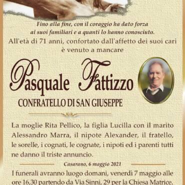 Pasquale Fattizzo – Confratello di San Giuseppe – Casarano
