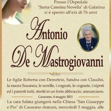 Antonio De Mastrogiovanni – Casarano