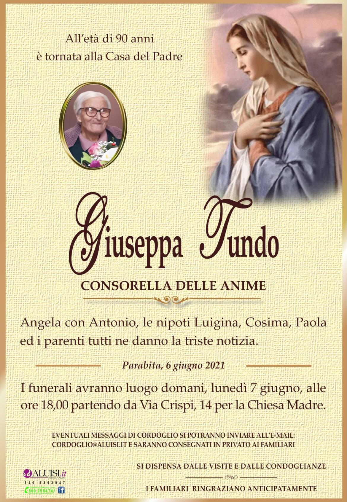 Annuncio-GIUSEPPA-TUNDO-PARABITA.jpg