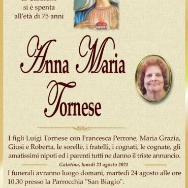 Anna Maria Tornese – Galatina