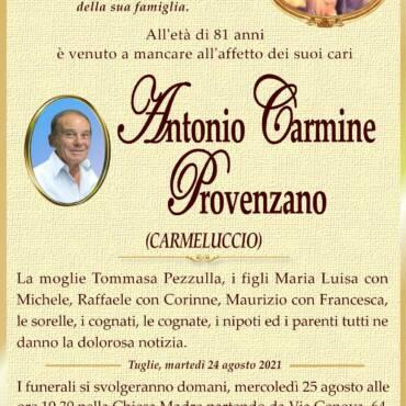 Antonio Carmine Provenzano – Tuglie