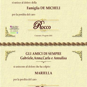 Rocco De Micheli – Casarano