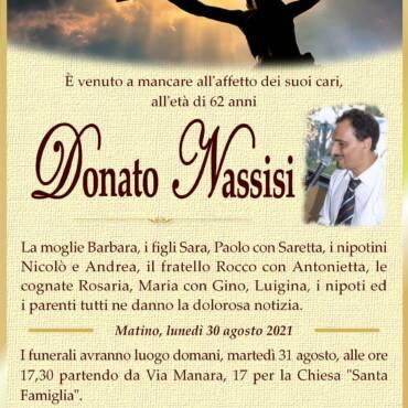 Donato Nassisi – Matino