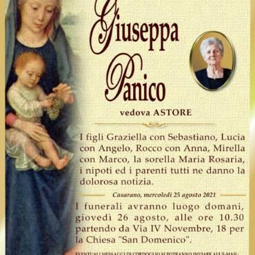 Giuseppa Panico – vedova Astore – Casarano