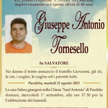 Giuseppe Antonio Tornesello – Parabita