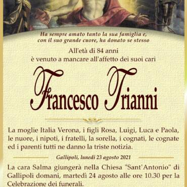 Francesco Trianni – Gallipoli