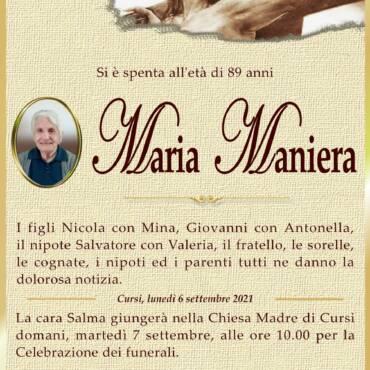 Maria Maniera – Cursi
