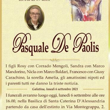 Pasquale De Paolis – Galatina