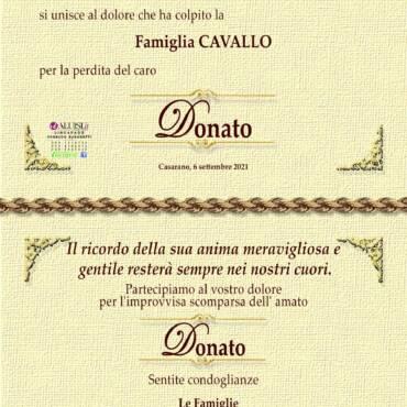 Donato Cavallo – Casarano