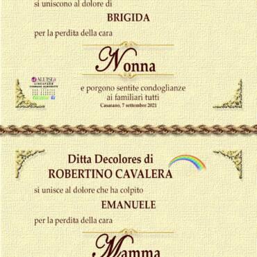 Campana Memmi – vedova Giovanni Scorrano – Casarano