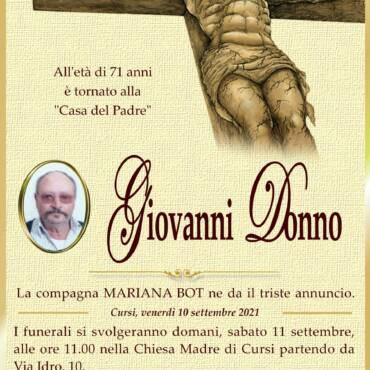 Giovanni Donno – Cursi