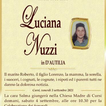 Luciana Nuzzi – in D'Autilia – Cursi
