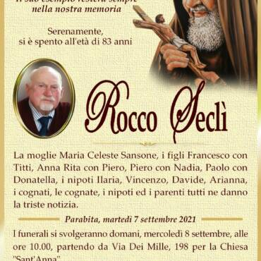 Rocco Seclì – Parabita